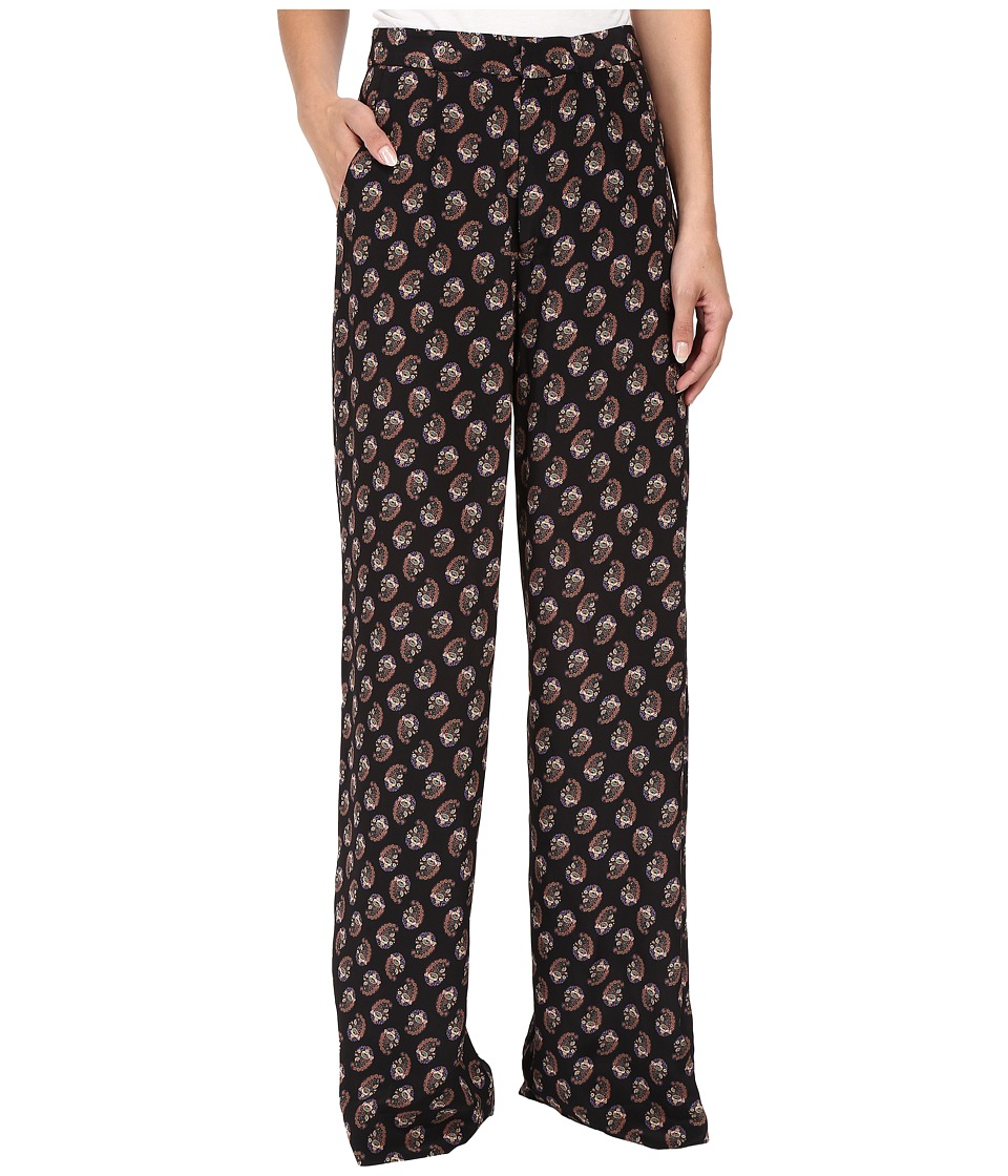 Nanette Lepore Silky PJ Pants Black Dress Pants