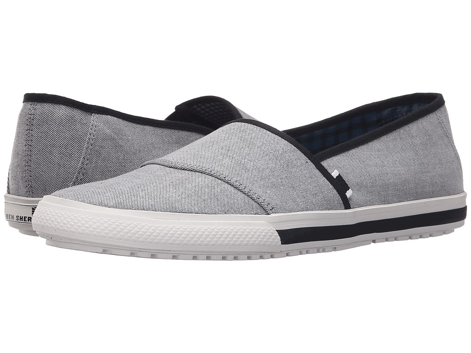 Ben Sherman - Connall Sport Slide (Black Chambray) Men's Shoes