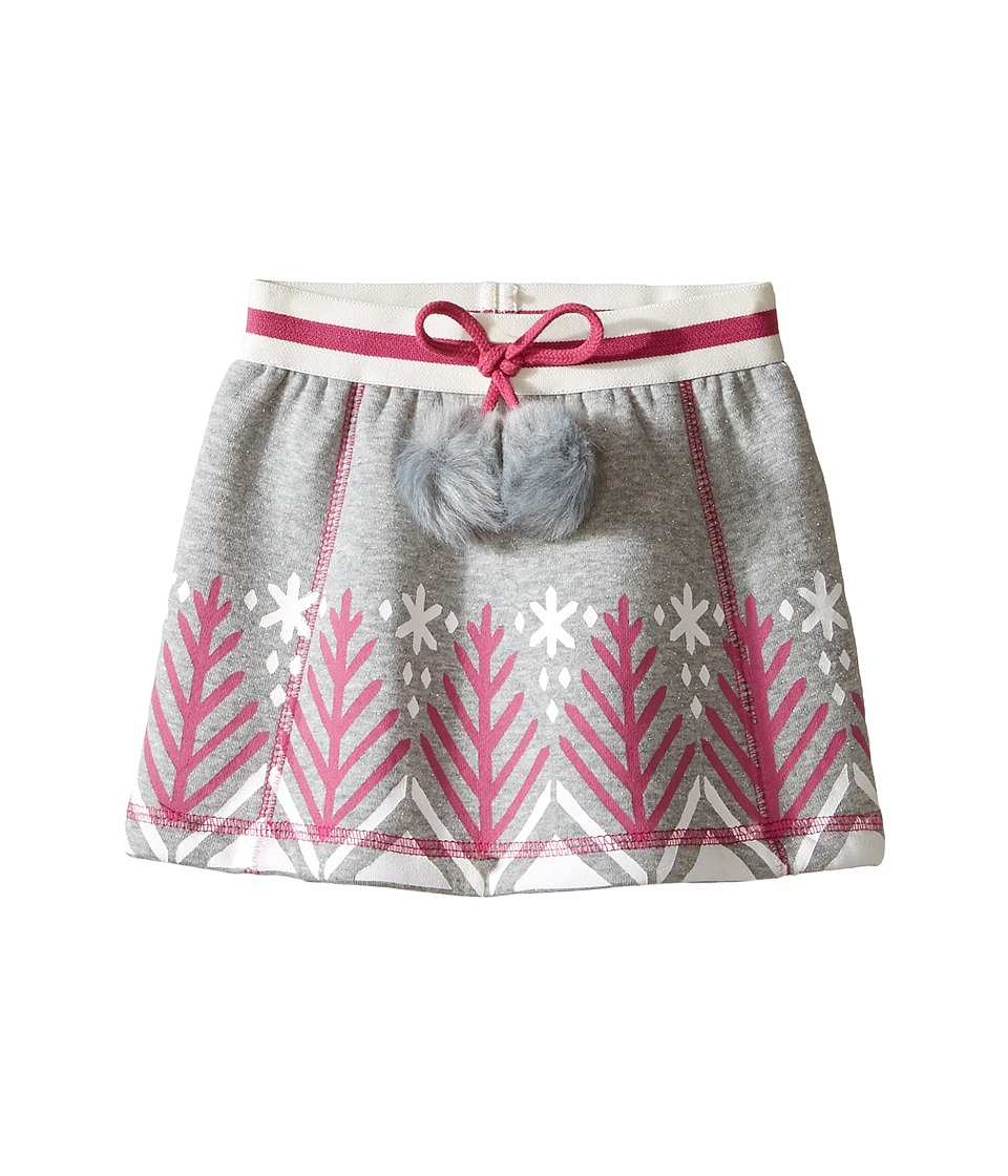 Hatley Kids - Bonded Sherpa Pom Pom Skirt (Toddler/Little Kids/Big Kids) (Grey) Girl's Skirt