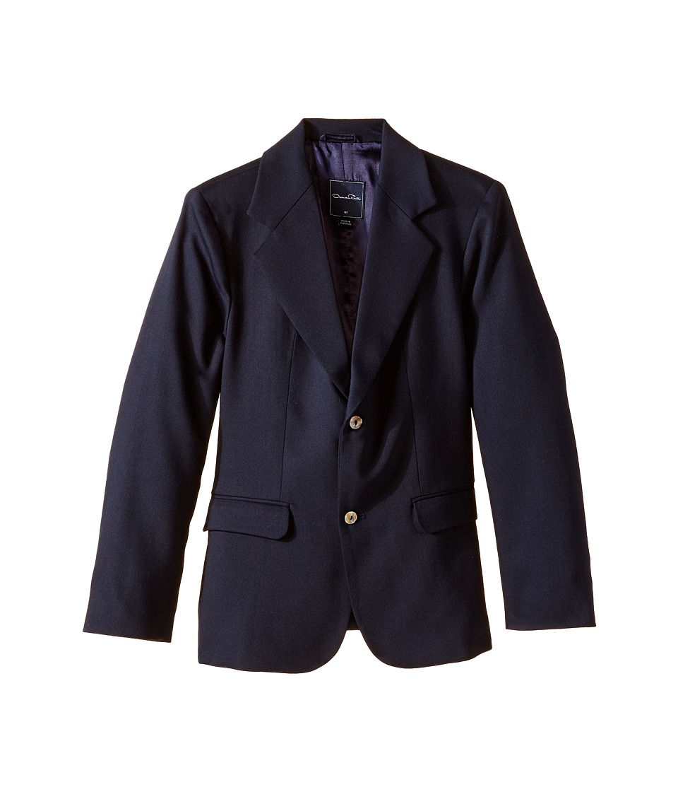 Oscar de la Renta Childrenswear - Wool Blazer (Toddler/Little Kids/Big Kids) (Navy) Boy's Jacket