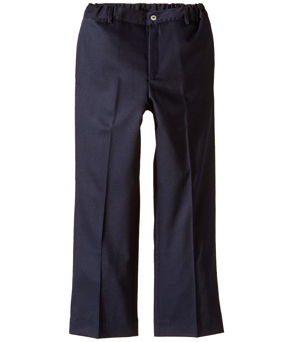 Oscar de la Renta Childrenswear - Wool Classic Pants (Toddler/Little Kids/Big Kids) (Navy) Boy's Casual Pants