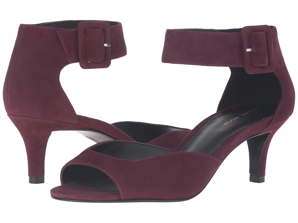 Pelle Moda - Berlin (Dark Cherry Suede) High Heels