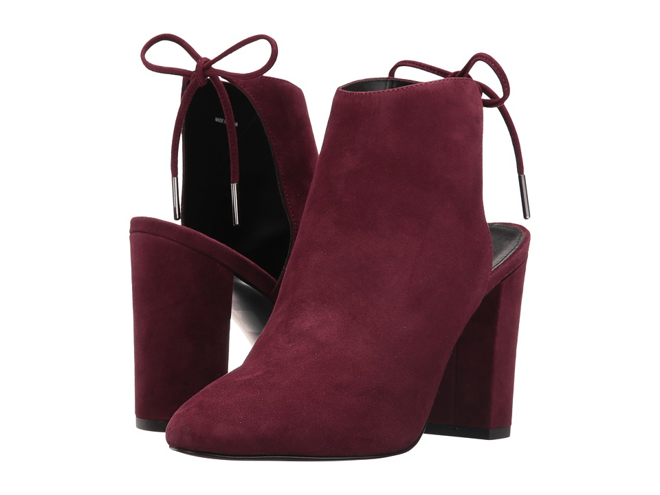 Pelle Moda Free (Dark Cherry Suede) High Heels