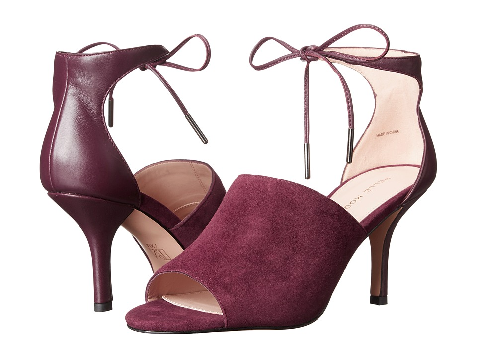Pelle Moda Ivet (Dark Cherry Suede) High Heels