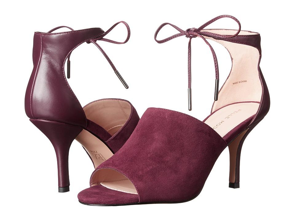 Pelle Moda - Ivet (Dark Cherry Suede) High Heels