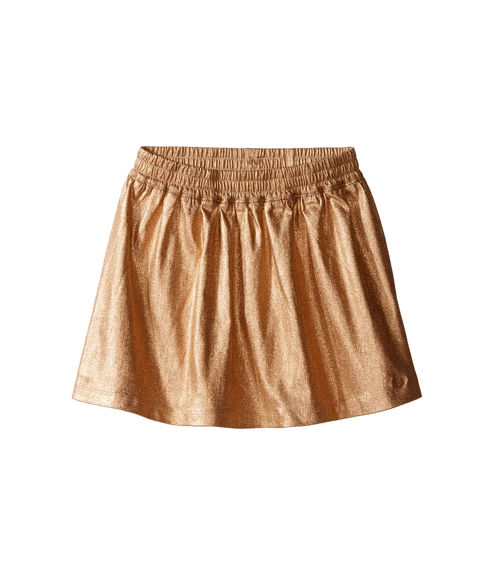 Little Marc Jacobs - Fancy Iridescent Twill Skirt (Little Kids/Big Kids) (Cuivre Rose) Girl's Skirt