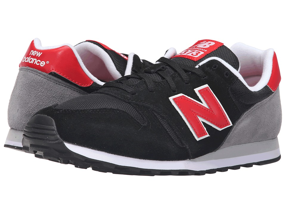 New Balance - ML373V1 (Black/Red) Men's Shoes