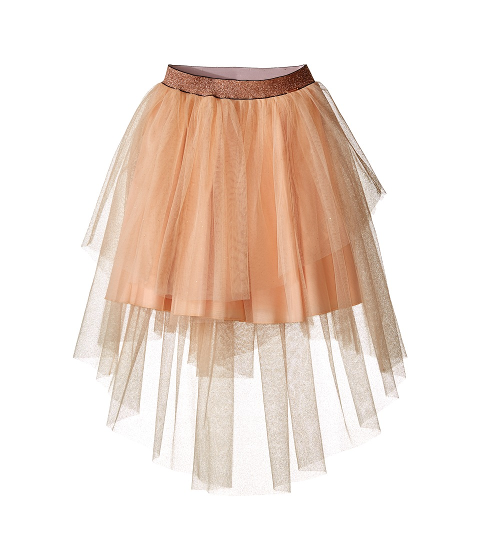 Junior Gaultier - Tulle Skirt (Big Kids) (Peach) Girl's Skirt