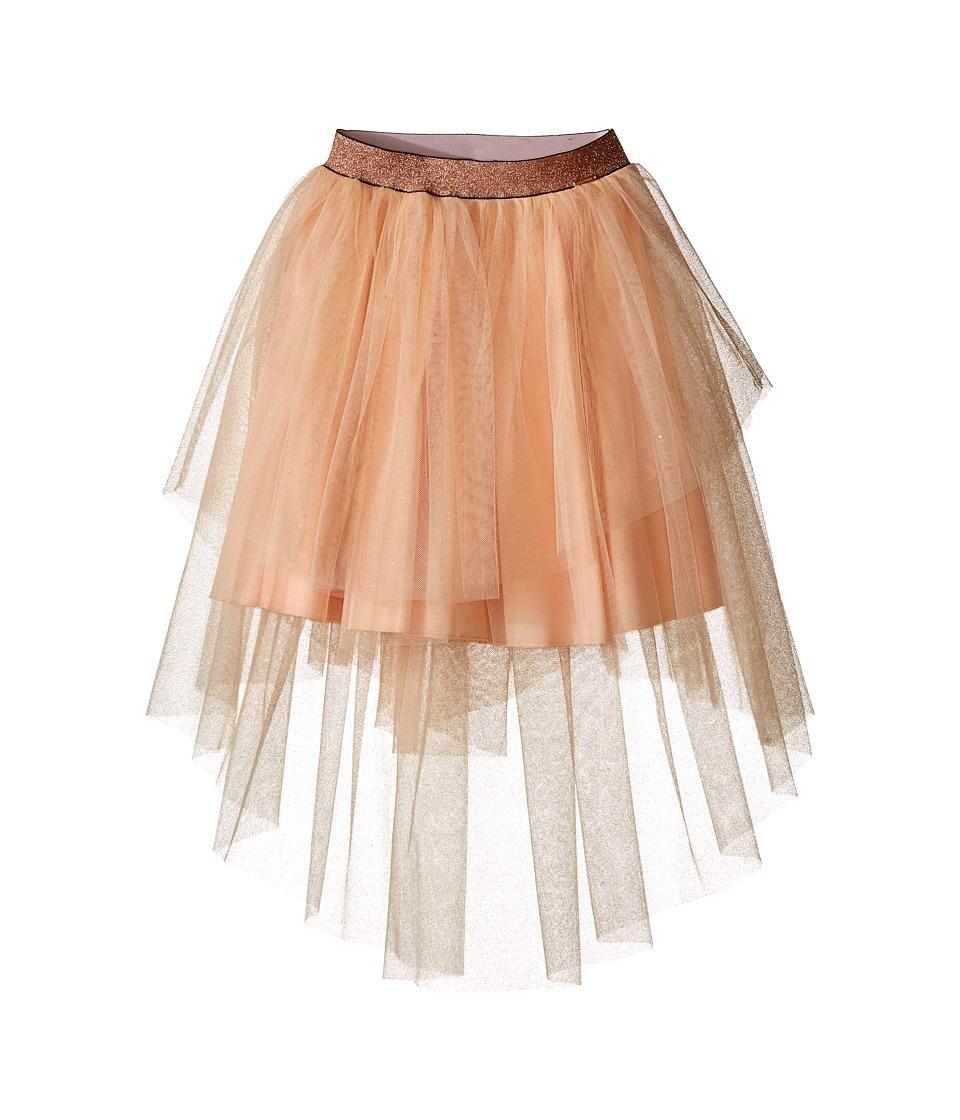 Junior Gaultier - Tulle Skirt (Big Kids) (Peach) Girl's Skirt