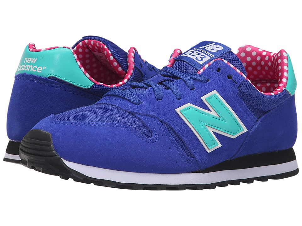 New Balance - WL373V1 (Blue/Green) Women's Shoes