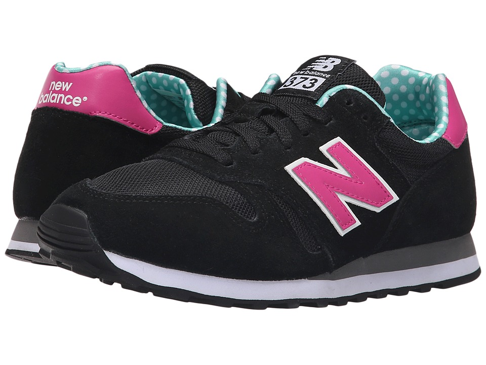 New Balance - WL373V1 (Black/Pink) Women's Shoes