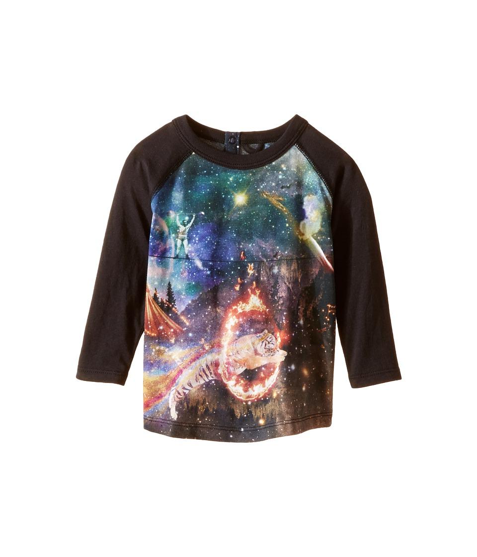 Stella McCartney Kids - Max Circus Fantasy Raglan T-Shirt (Infant) (Black Multi) Boy's T Shirt