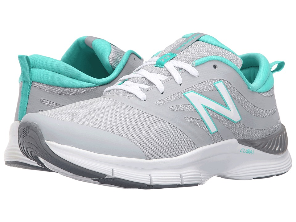 New Balance - WX713V1 (Silver/Reef) Women's Cross Training Shoes