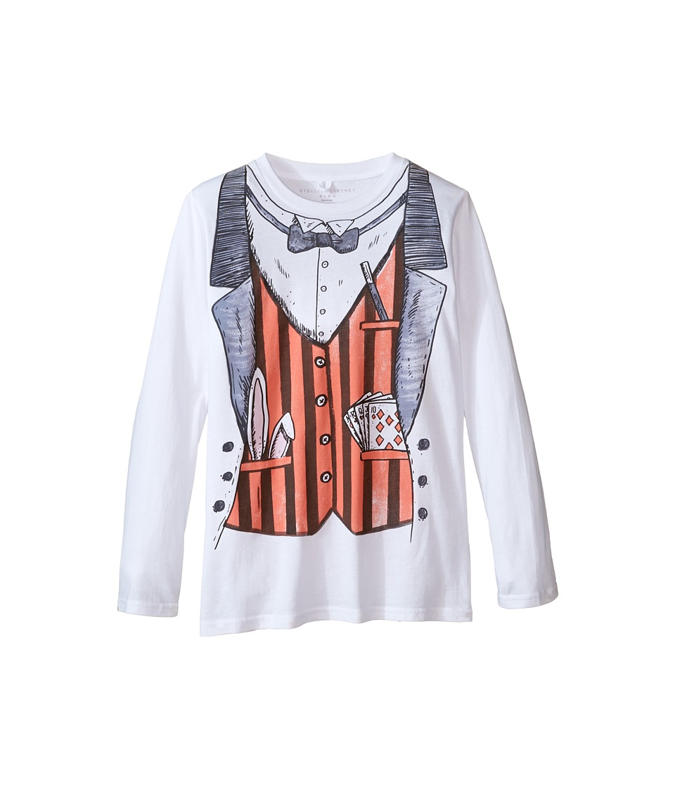 Stella McCartney Kids - Barley Magician T-Shirt (Toddler/Little Kids/Big Kids) (White) Boy's T Shirt