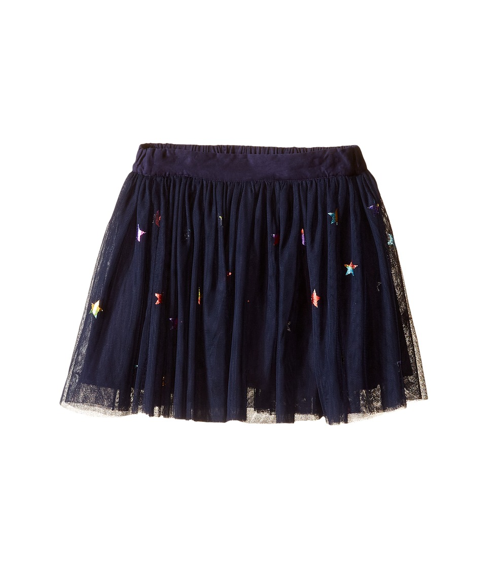 Stella McCartney Kids - Honey Star Print Tulle Skirt (Toddler/Little Kids/Big Kids) (Blue) Girl's Skirt