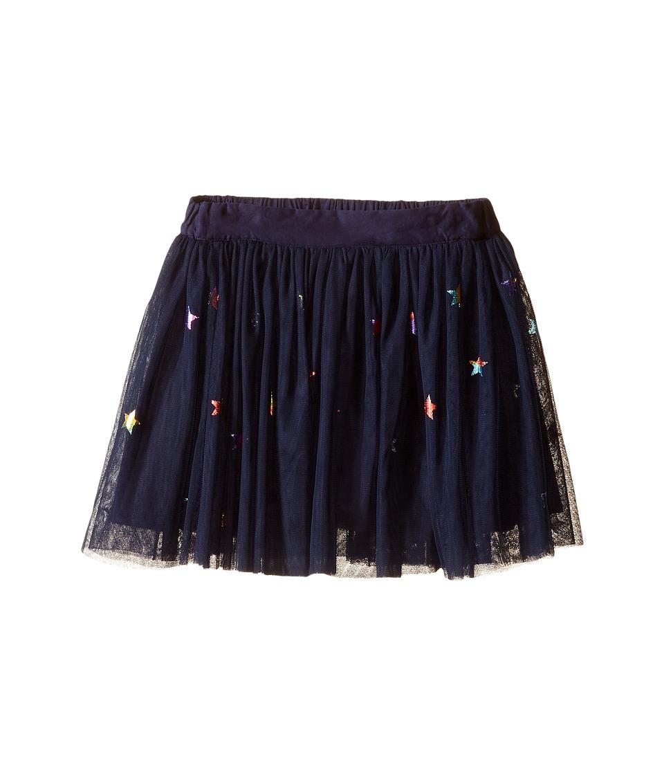 Stella McCartney Kids - Honey Star Print Tulle Skirt (Toddler/Little Kids/Big Kids) (Blue) Girl's Skirt