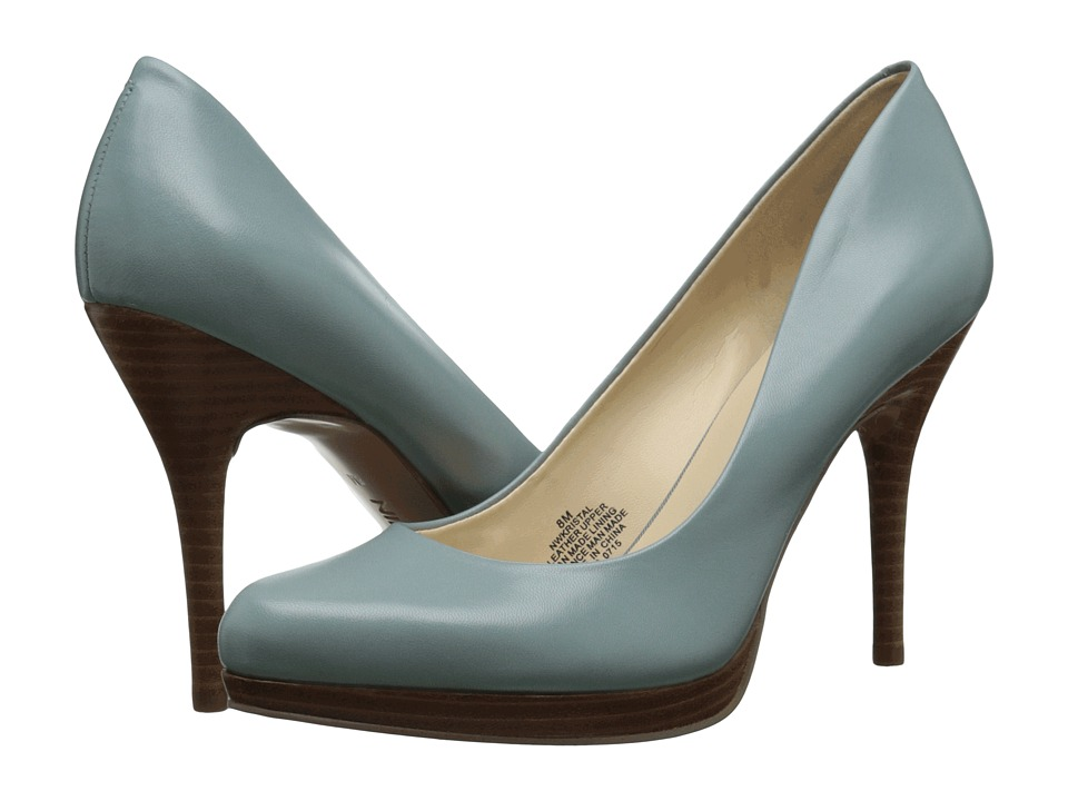 Nine West - Kristal (Green Leather) Women's Shoes
