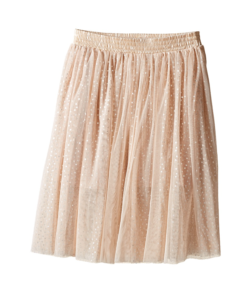 Stella McCartney Kids - Amalie Polka Dot Long Tulle Skirt (Toddler/Little Kids/Big Kids) (Peony) Girl's Skirt