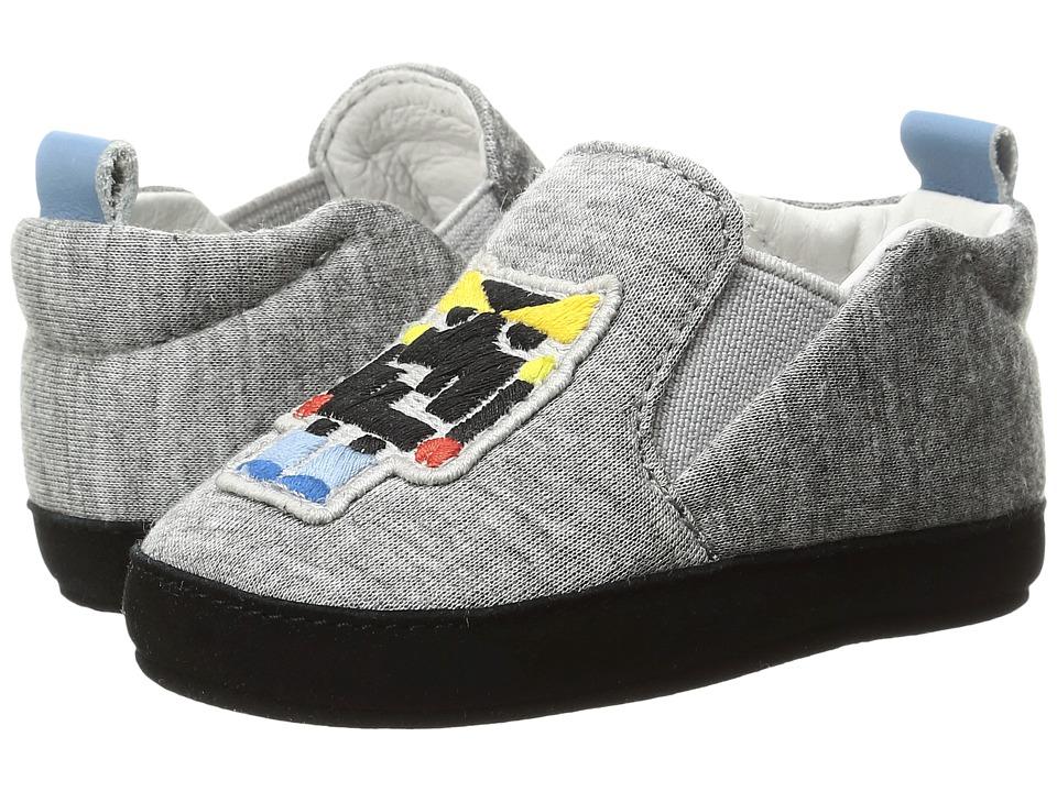 Fendi Kids - Monster Crib Shoes (Infant) (Grey) Boys Shoes