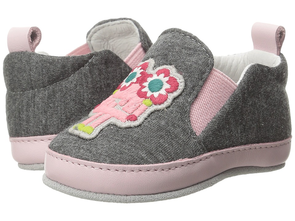Fendi Kids - Monster Crib Shoes (Infant) (Grey) Girls Shoes