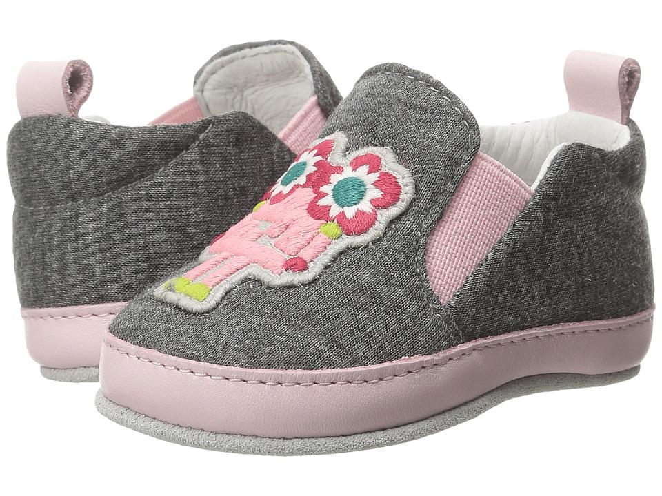 Fendi Kids - Monster Crib Shoes (Infant) (Grey) Girls Shoes