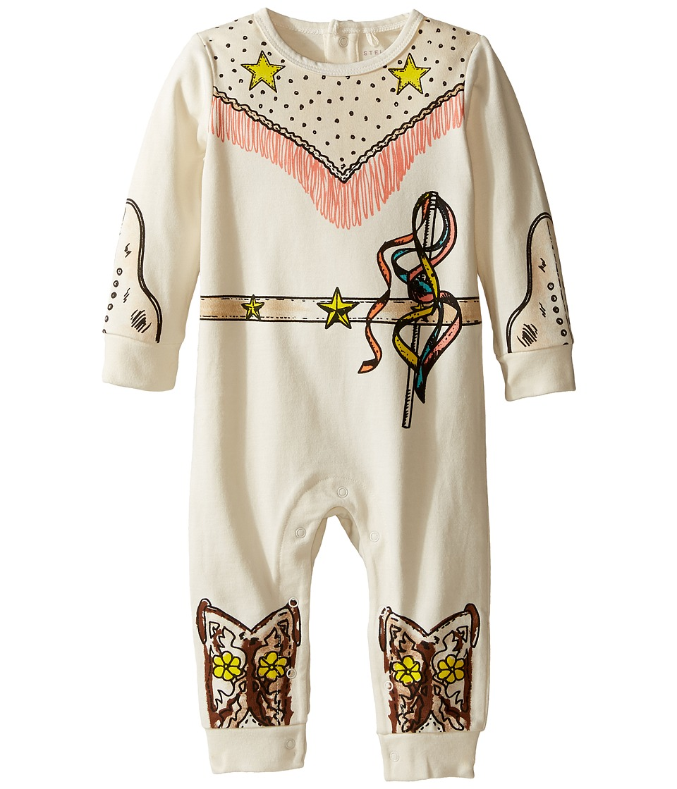 Stella McCartney Kids - Dewberry Cowgirl All-In-One (Infant) (Cloud) Girl's Jumpsuit & Rompers One Piece