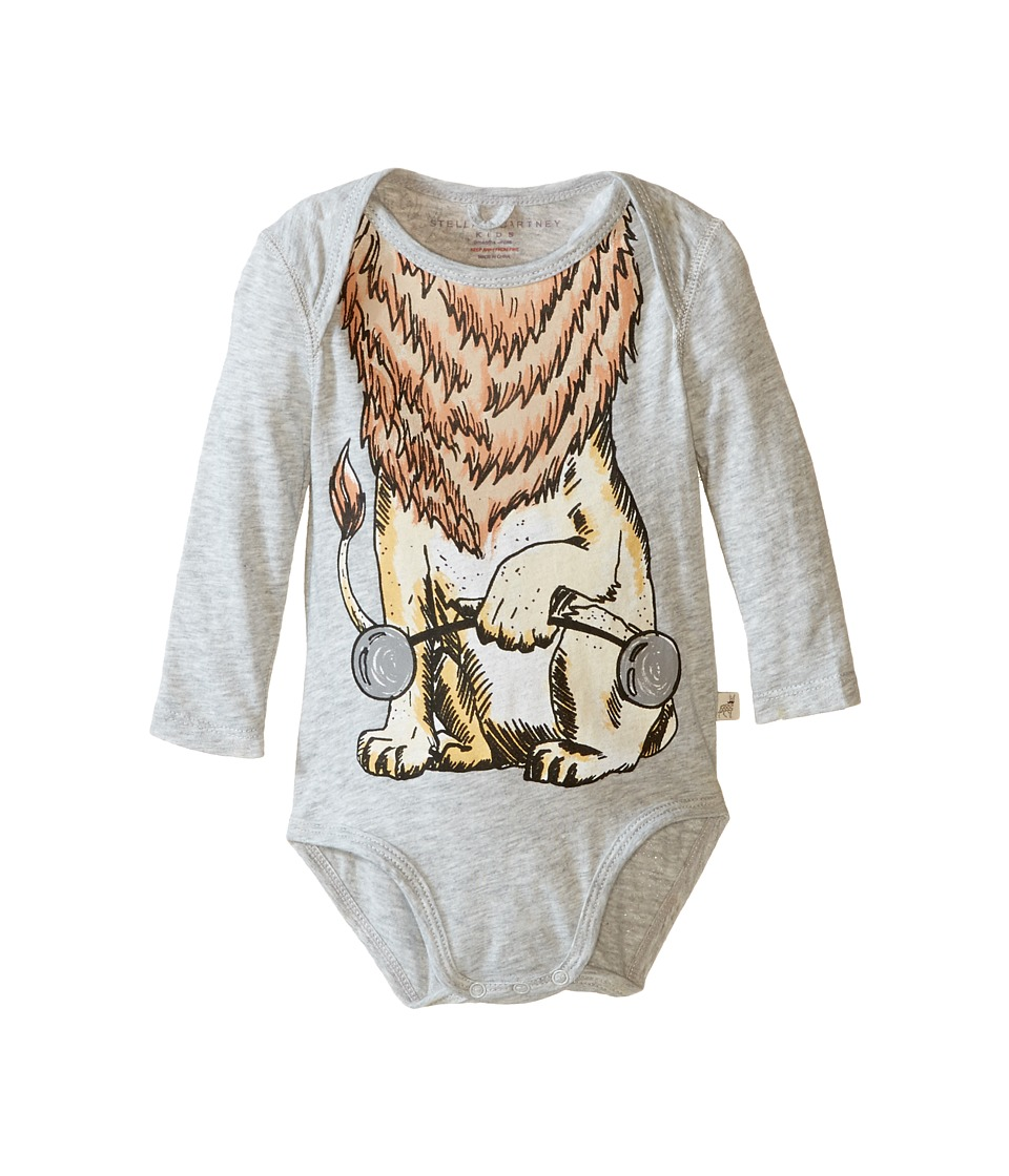 Stella McCartney Kids - Binky Lion Body (Infant) (Pebble) Boy's Jumpsuit & Rompers One Piece