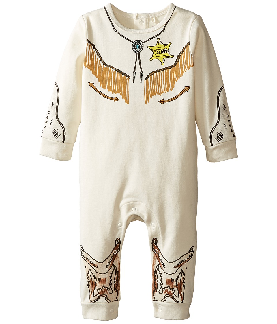 Stella McCartney Kids - Dewberry Sheriff All-In-One (Infant) (Cloud) Boy's Jumpsuit & Rompers One Piece