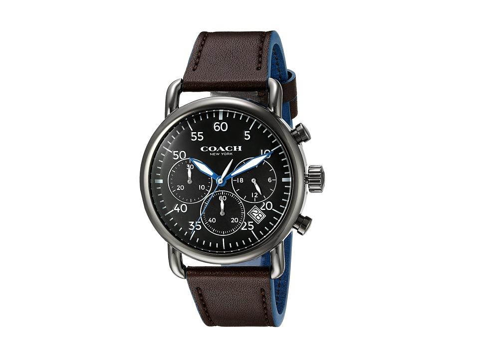COACH - Delancey - 14602106 (Black) Watches