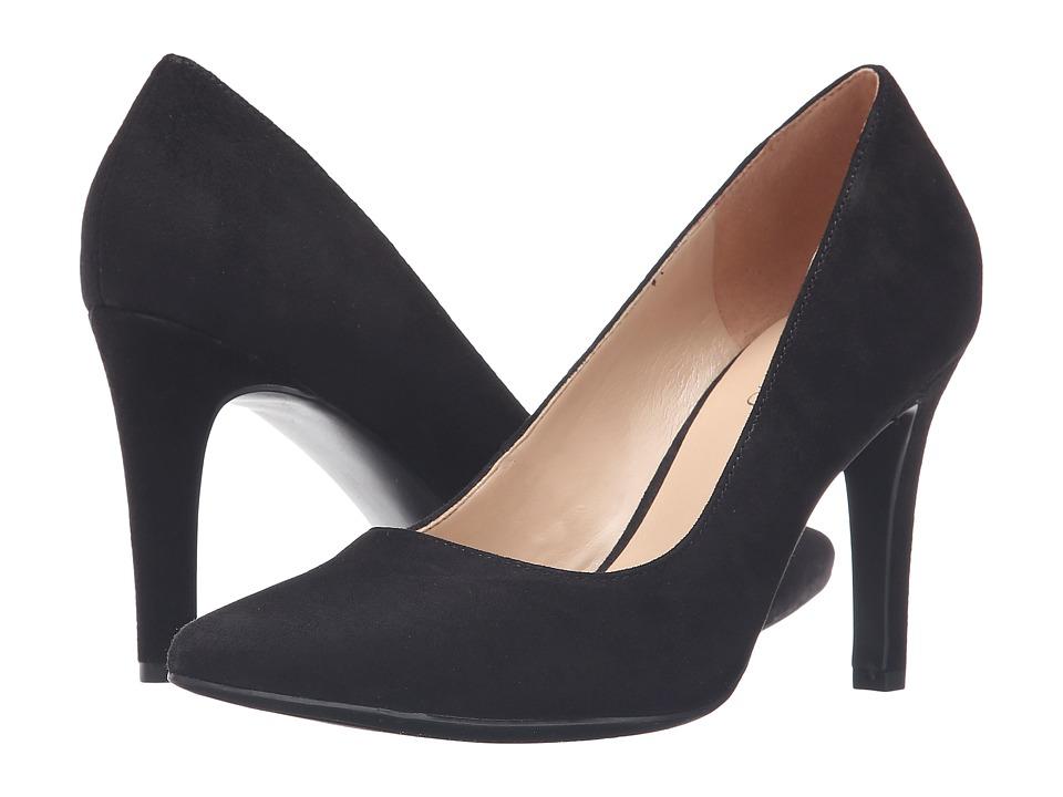 Franco Sarto - Amore (Black Suede) Women's Shoes