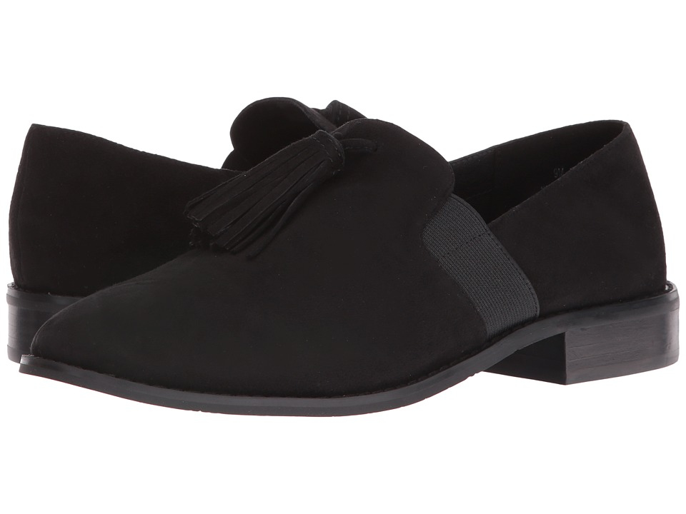 Pelle Moda - Yael (Black Suede) Women's Shoes