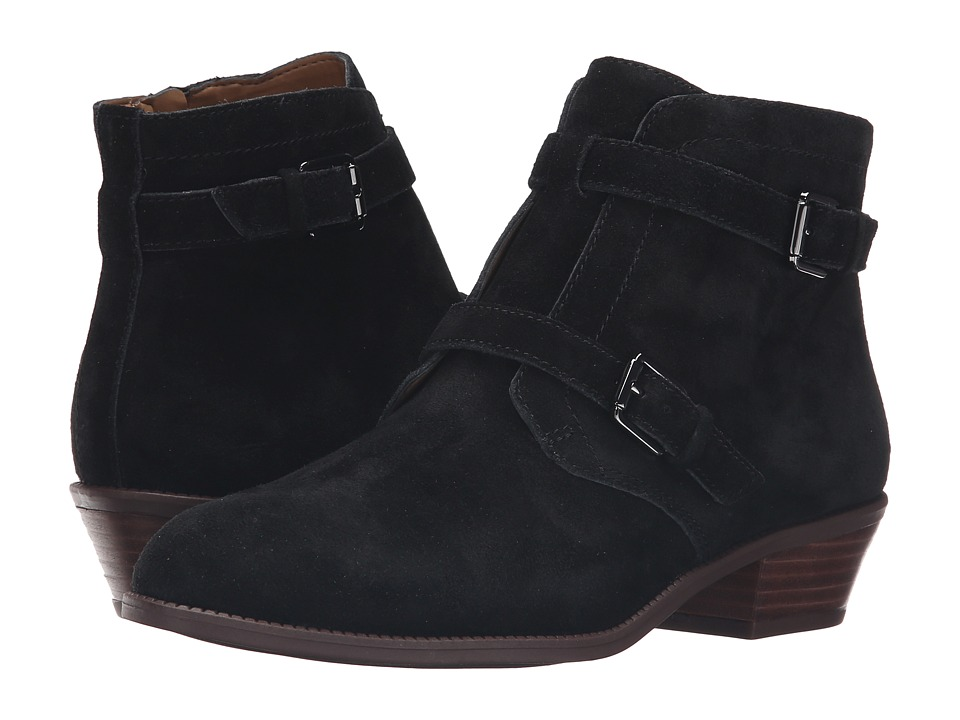 Franco Sarto - Rynn (Black Suede) Women's Shoes