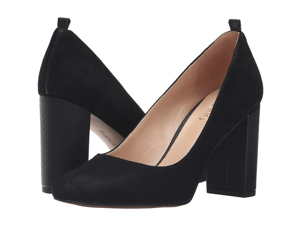 Franco Sarto - Ingall (Black Suede) Women's Shoes