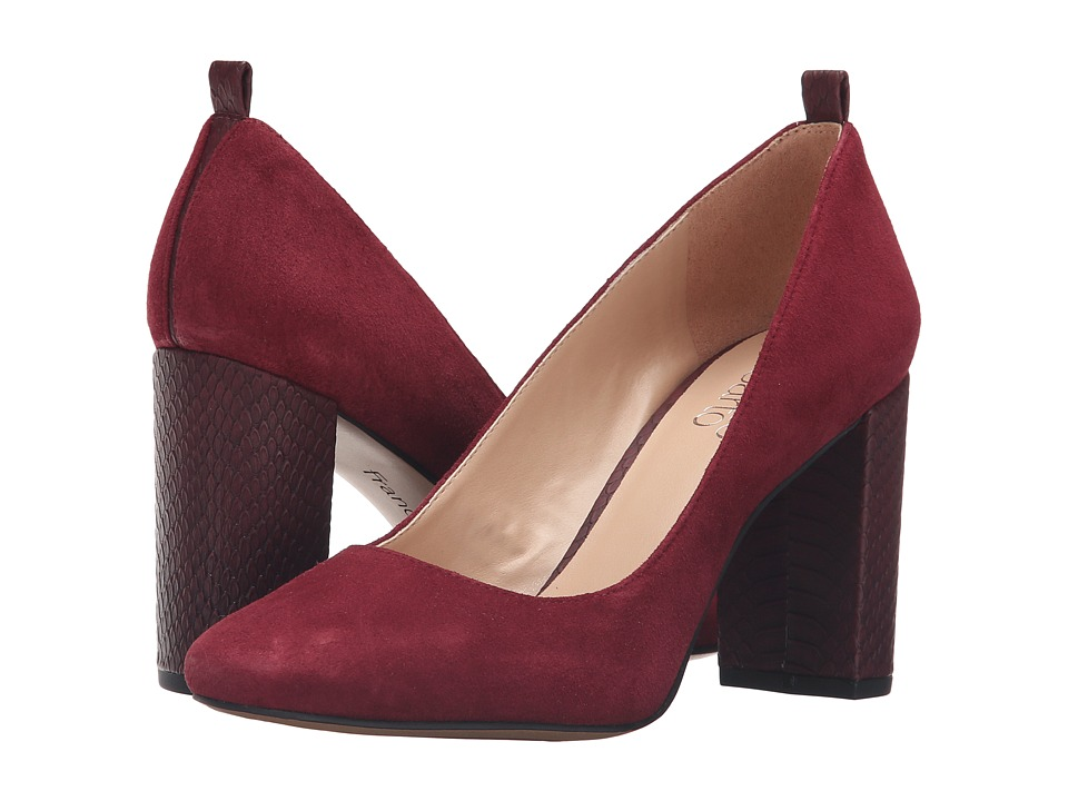 Franco Sarto Ingall (Bordo Suede) Women