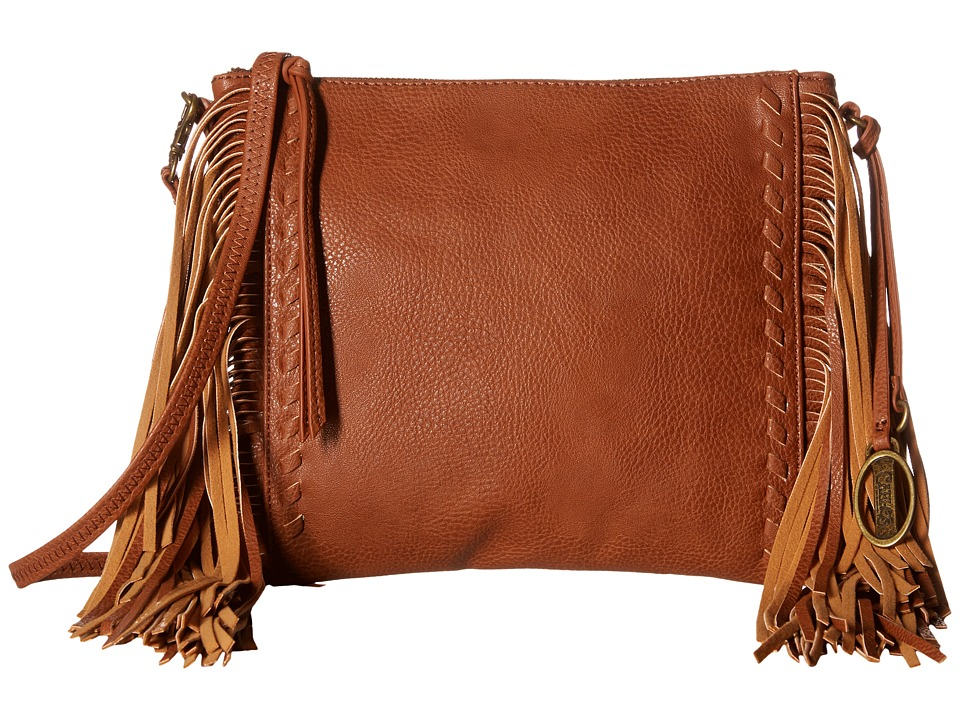 CARLOS by Carlos Santana - Felice Crossbody (Cognac) Cross Body Handbags