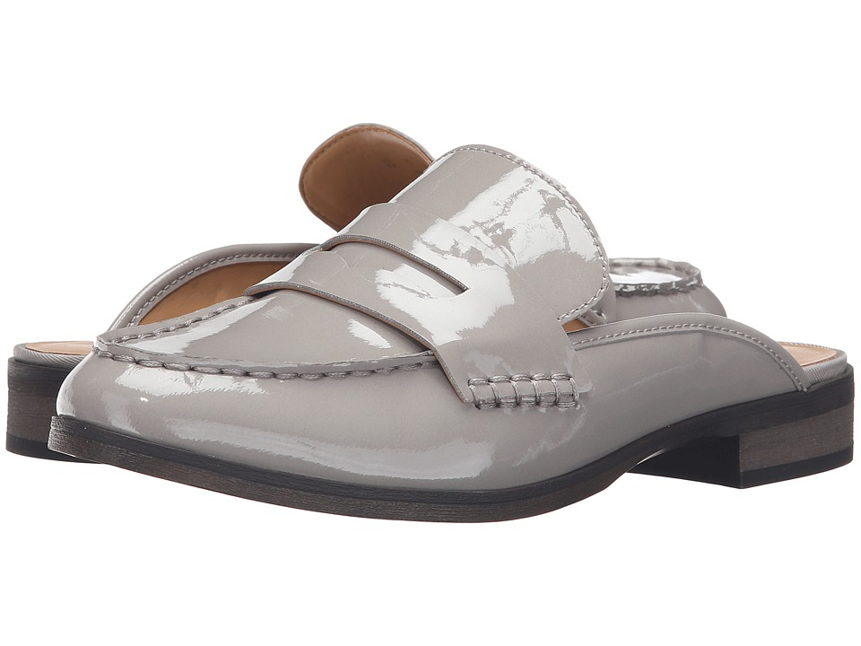 Franco Sarto Brently (Silky Grey Patent) Women