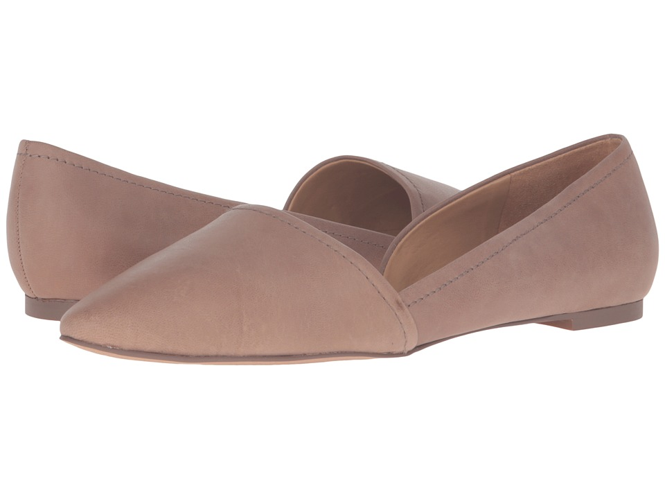 Franco Sarto - Spiral (Mushroom Leather) Women's Flat Shoes