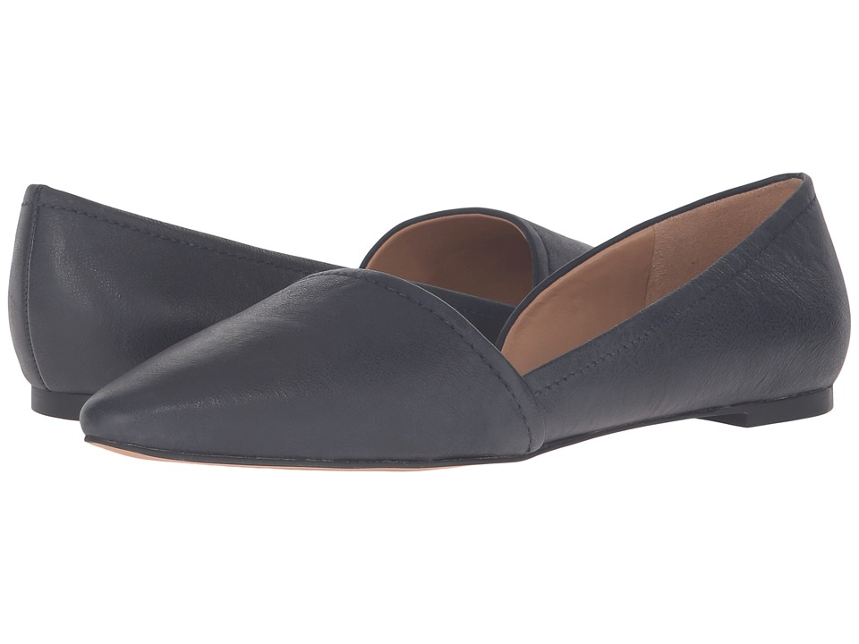 Franco Sarto - Spiral (Twlight Blue Leather) Women's Flat Shoes