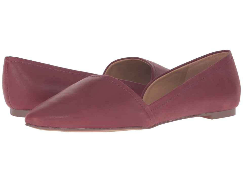 Franco Sarto - Spiral (Bordo Leather) Women's Flat Shoes