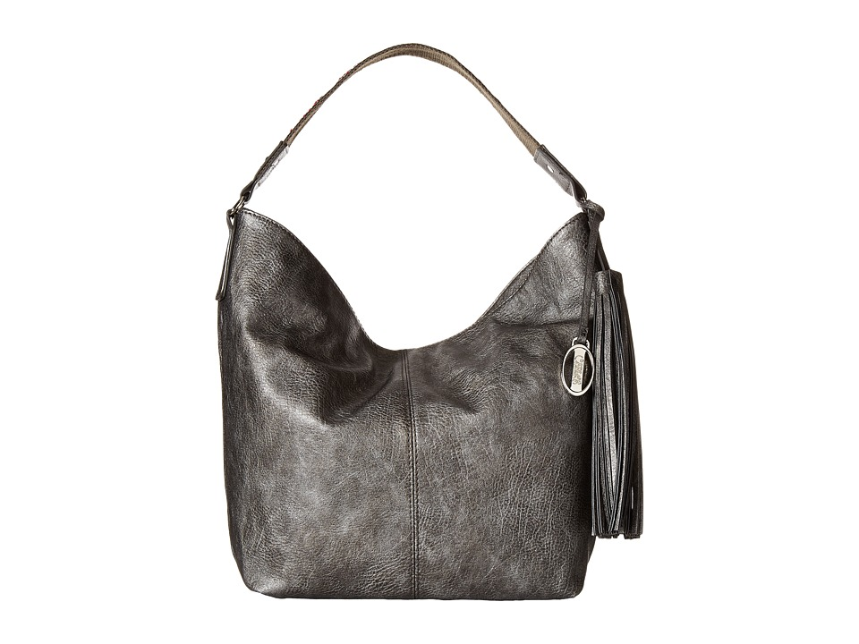 CARLOS by Carlos Santana - Katelyn Bucket Bag (Gunmetal) Bags