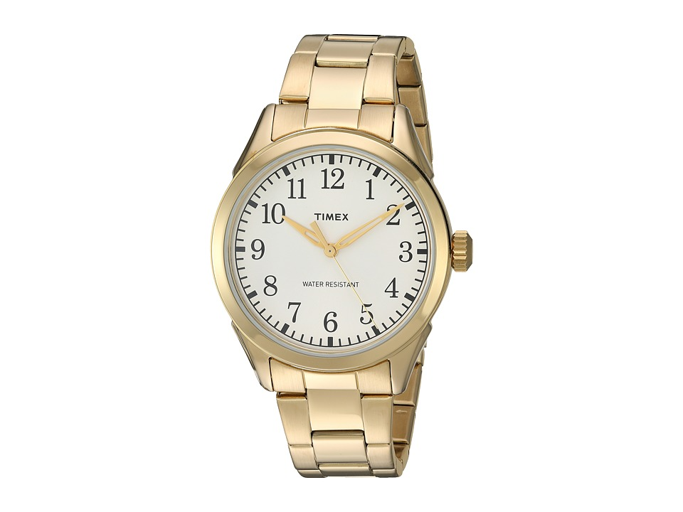 Timex - Briarwood Terrace Stainless Steel Bracelet (Gold-Tone/Silver-Tone) Watches