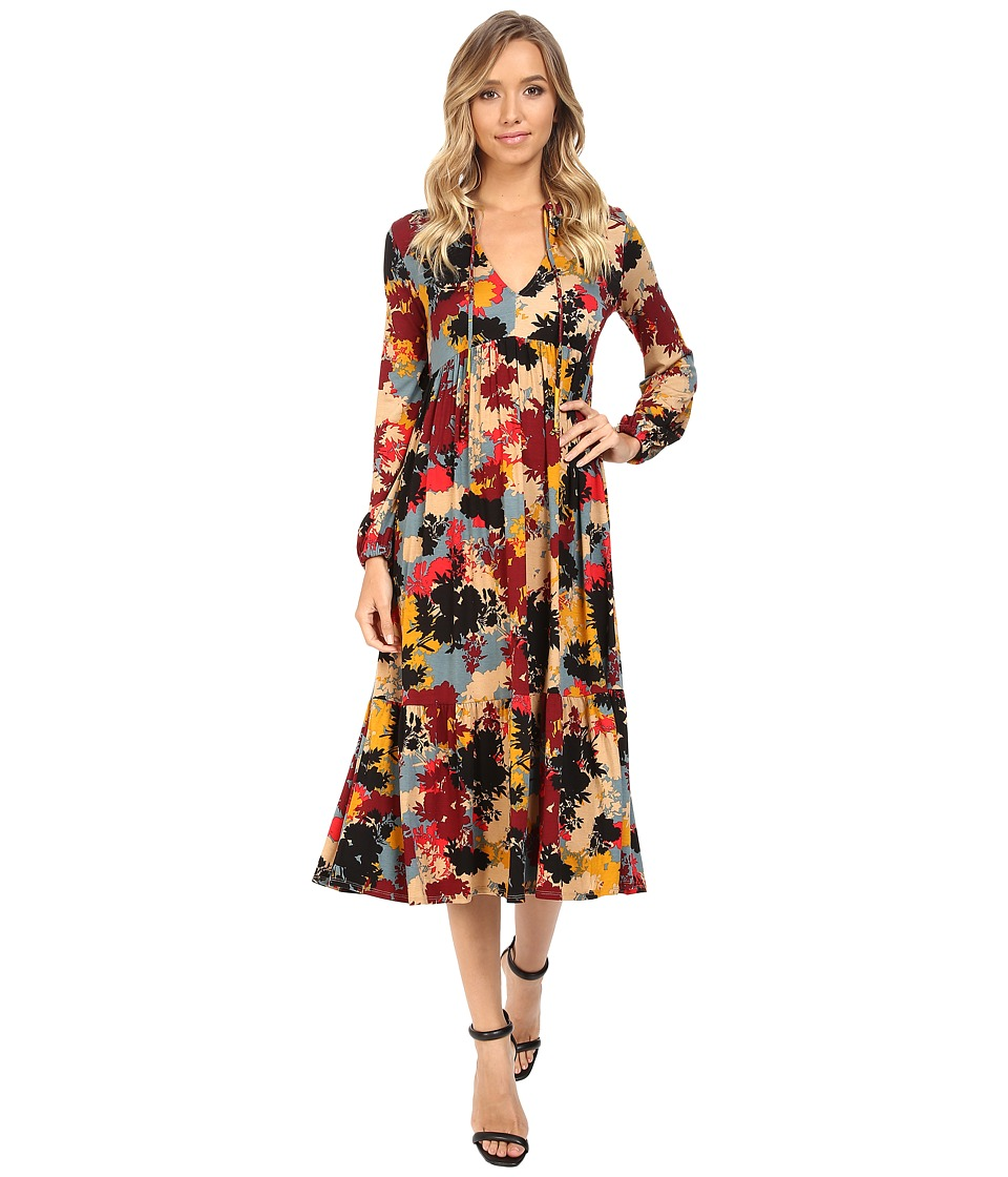 Rachel Pally Kaemon Dress Print (Foliage) Women