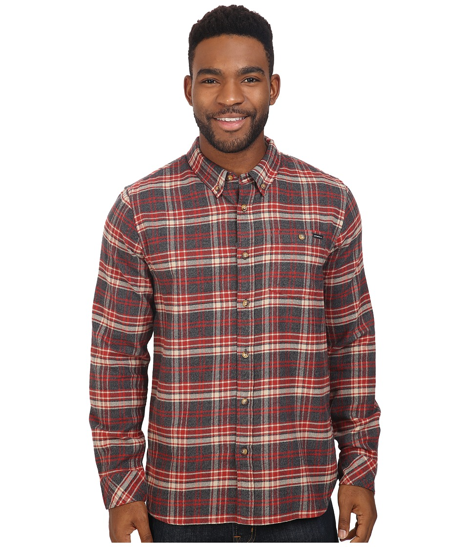O'Neill - Redmond Flannel (Black) Men's Clothing