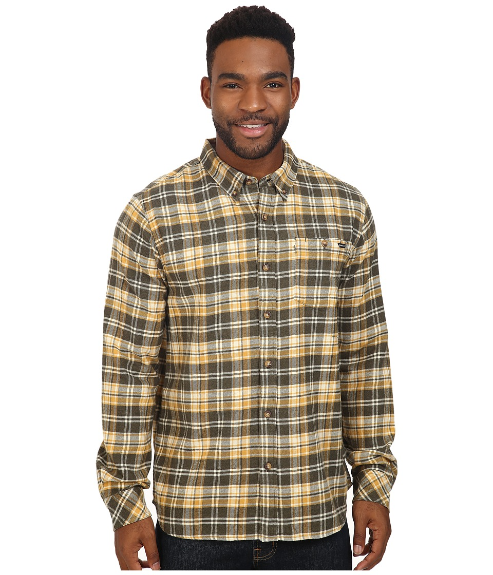 O'Neill - Redmond Flannel (Dusty Olive) Men's Clothing