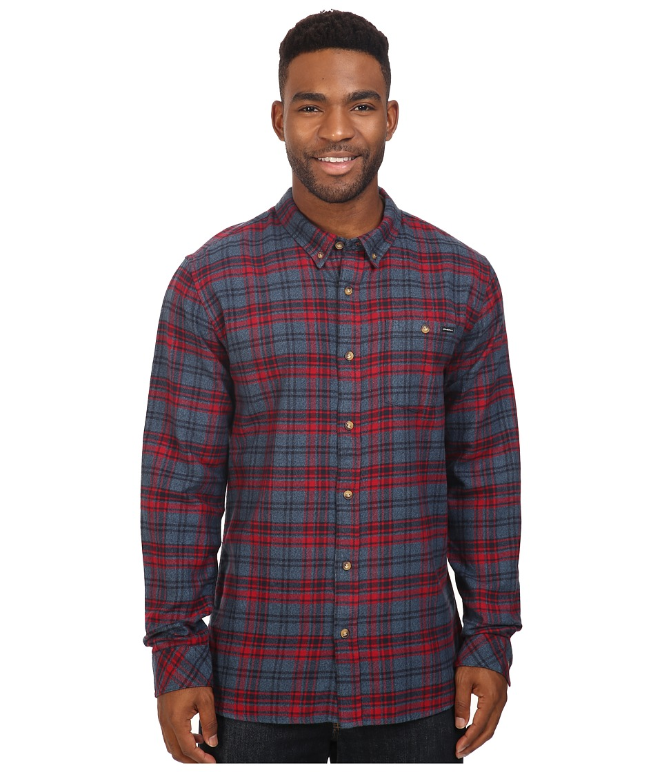 O'Neill - Redmond Flannel (Red) Men's Clothing