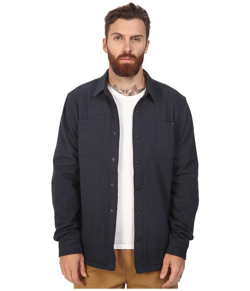 O'Neill - Glacier Lined Long Sleeve (Navy) Men's Clothing
