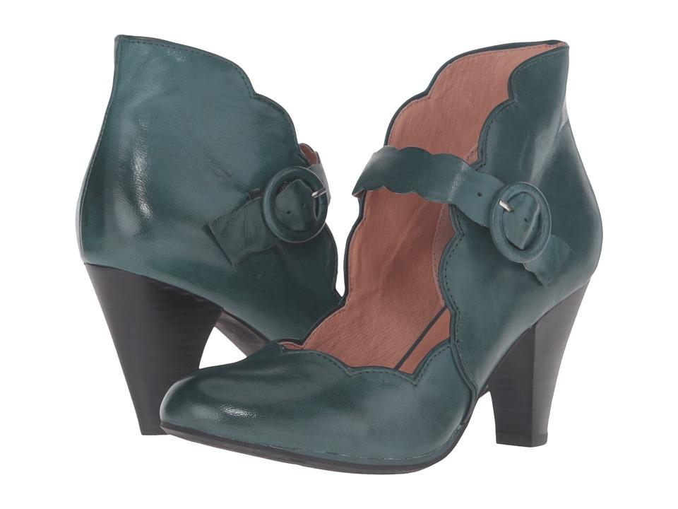 Miz Mooz - Carissa (Teal) Women's Maryjane Shoes
