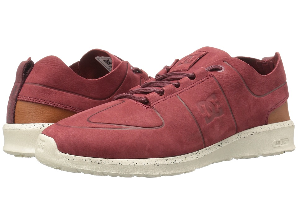 DC - Lynx Lite Zero (Burgundy 2) Men's Skate Shoes
