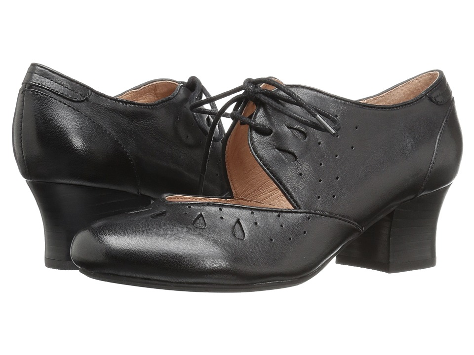 Miz Mooz - Fordham (Black) Women's Shoes