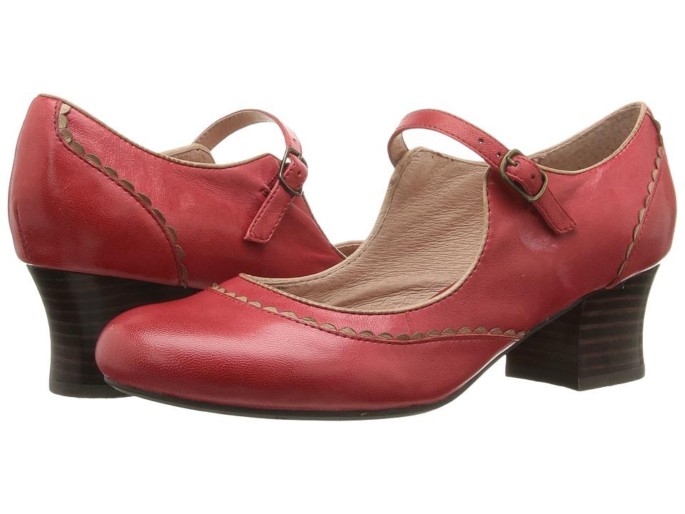 Miz Mooz - Fortune (Red) Women's Shoes